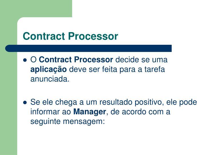Contract Processor