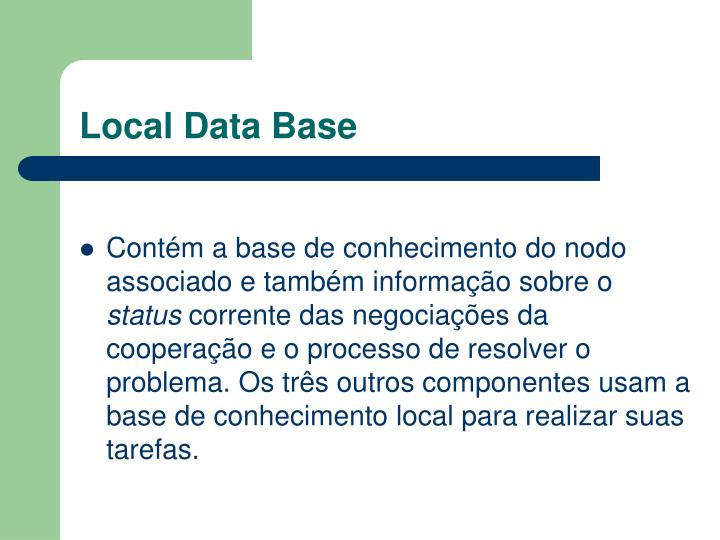 Local Data Base