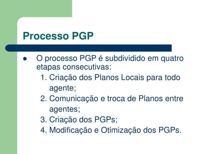 Processo PGP