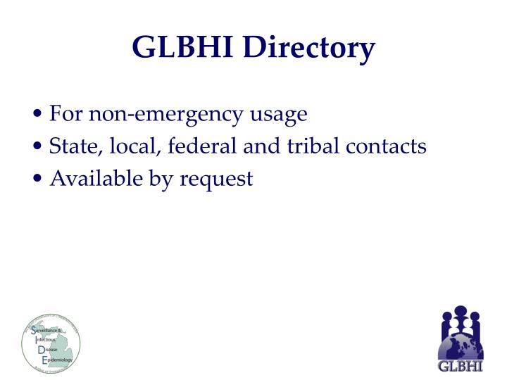 GLBHI Directory