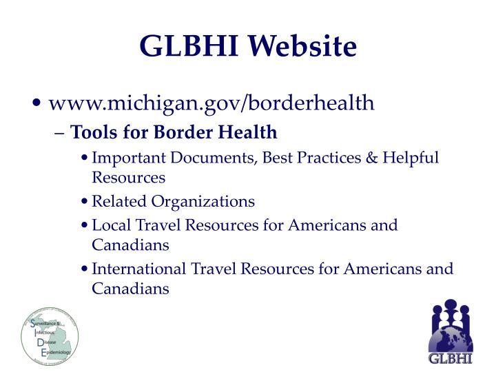 GLBHI Website