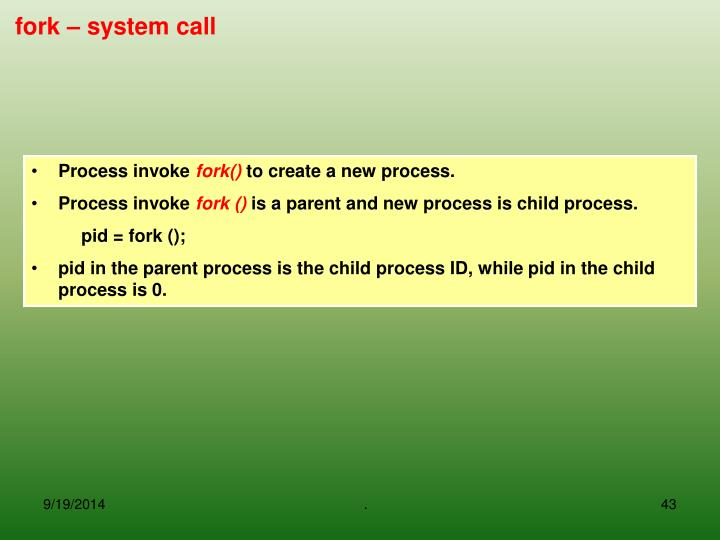 Process invoke