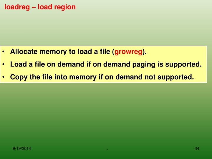 Allocate memory to load a file (