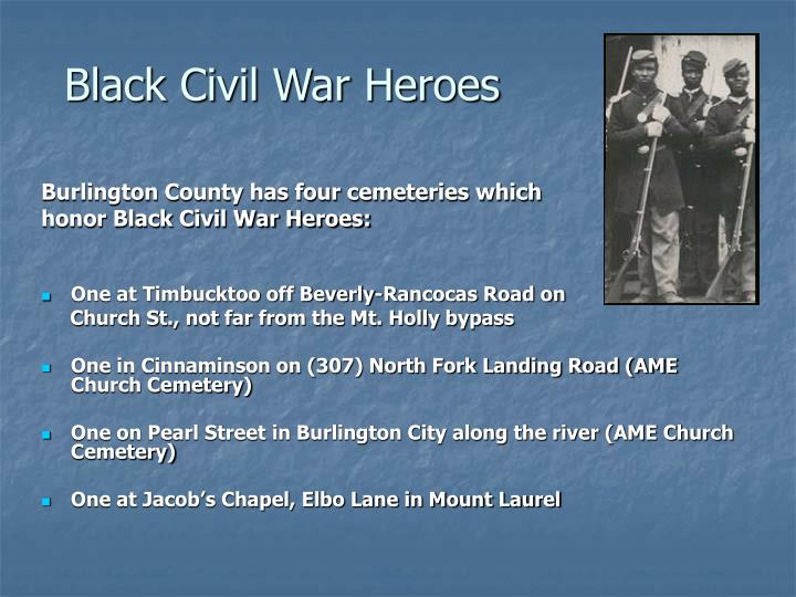 Black Civil War Heroes