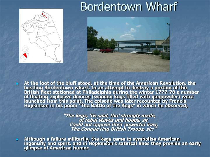 Bordentown Wharf
