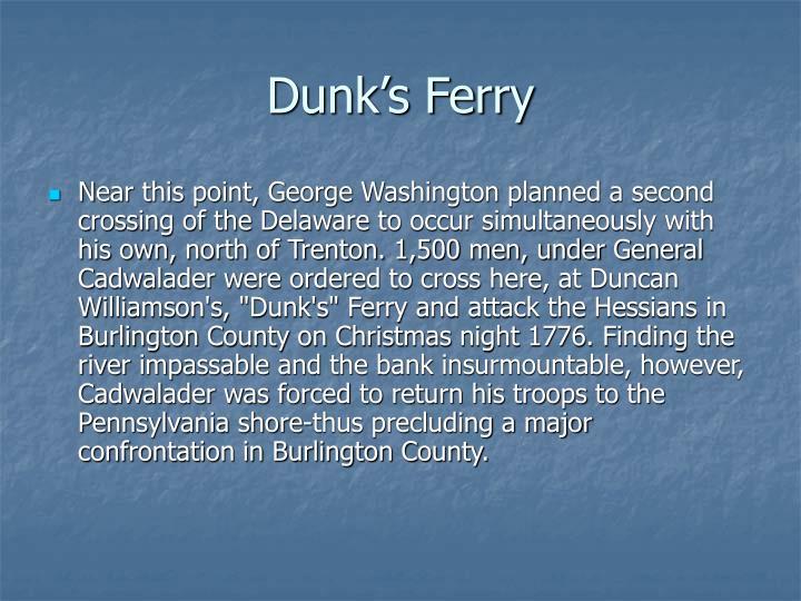 Dunk's Ferry