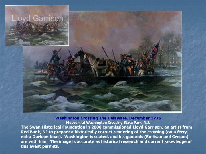 Washington Crossing The Delaware, December 1776