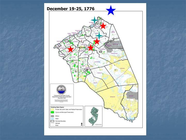 December 19-25, 1776