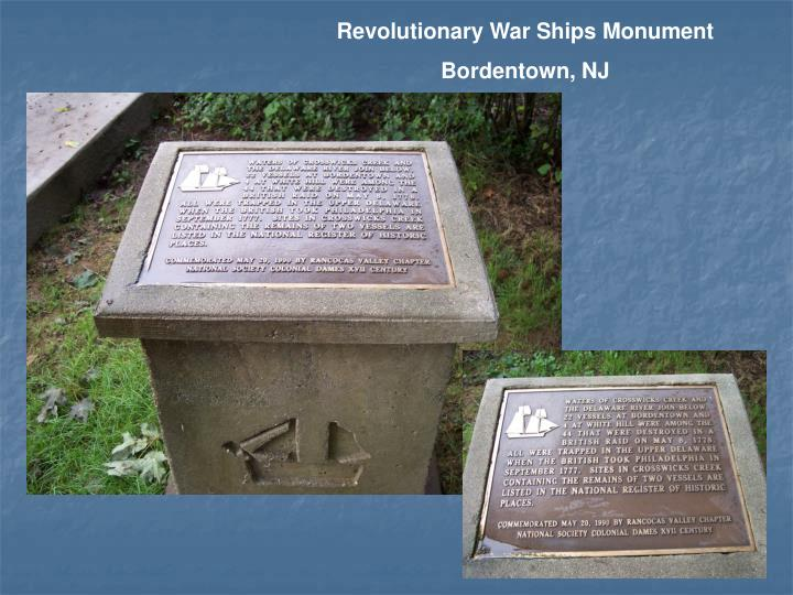 Revolutionary War Ships Monument