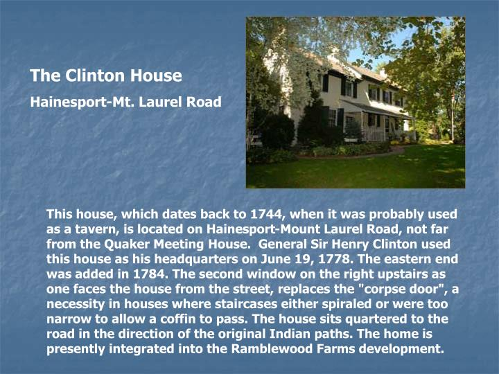 The Clinton House