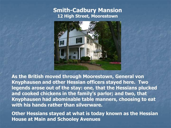 Smith-Cadbury Mansion