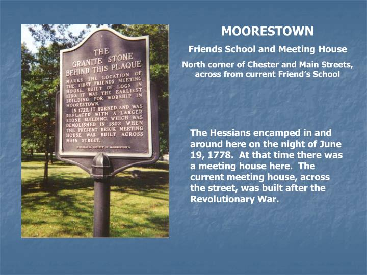 MOORESTOWN