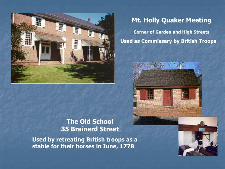 Mt. Holly Quaker Meeting
