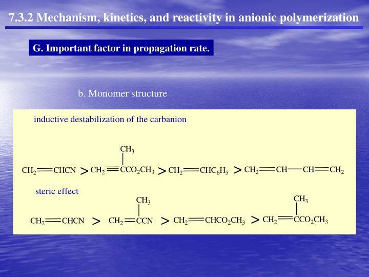 b. Monomer structure