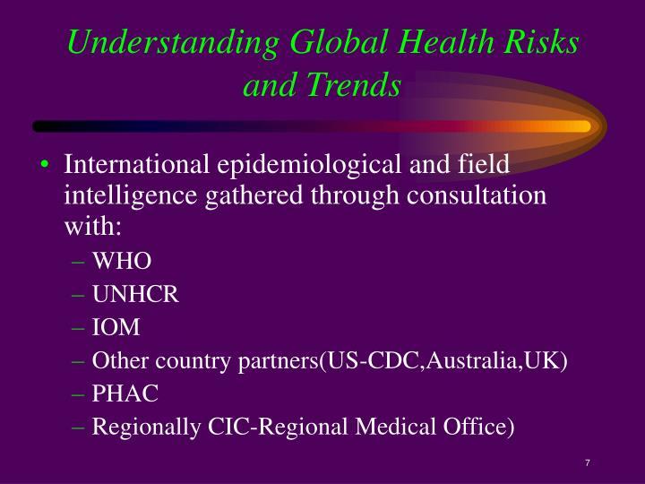Understanding Global Health Risks and Trends