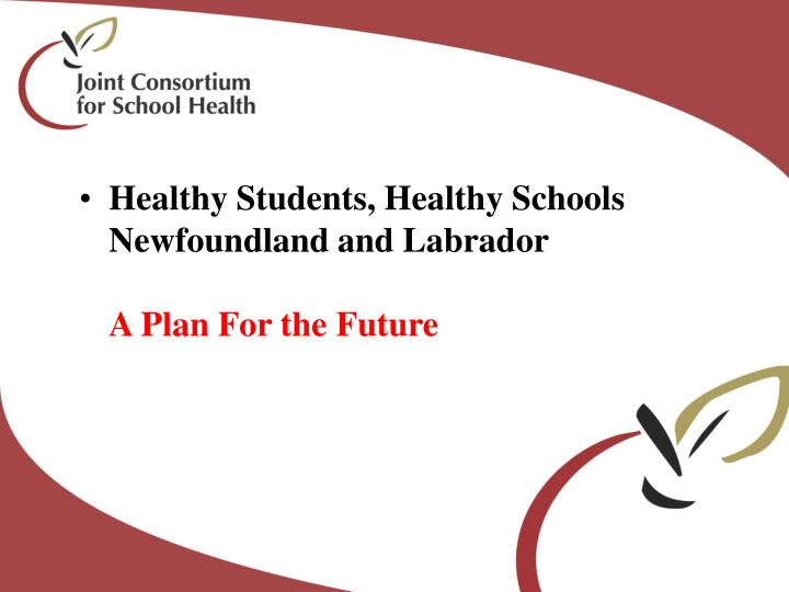 Healthy Students, Healthy Schools
