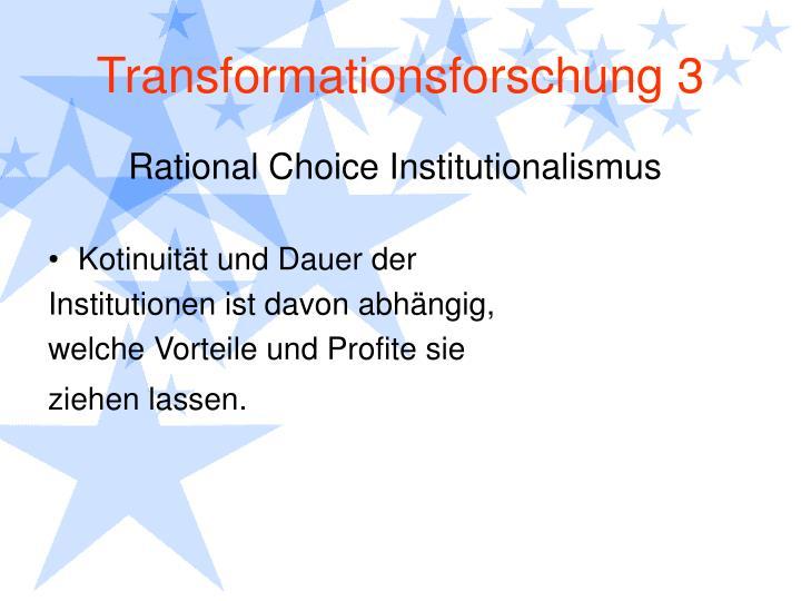 Transformationsforschung 3