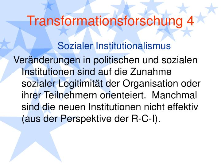 Transformationsforschung 4