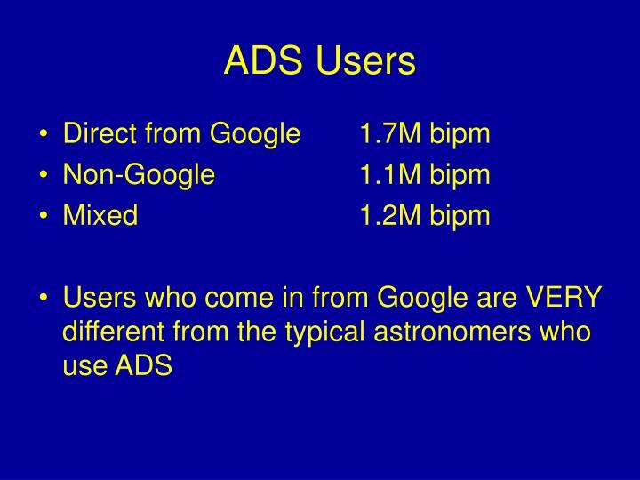 ADS Users