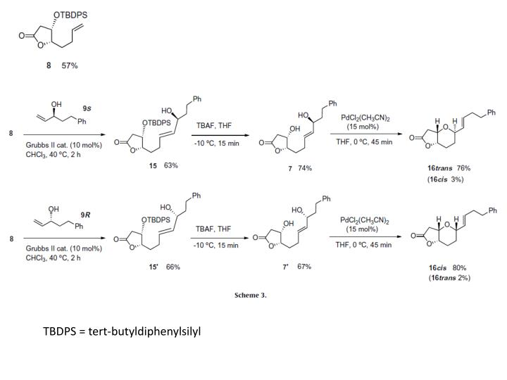 TBDPS = tert-butyldiphenylsilyl