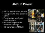 ambus project