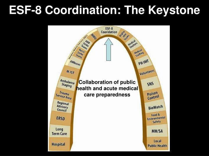 ESF-8 Coordination: The Keystone