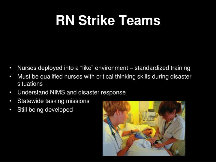 RN Strike Teams