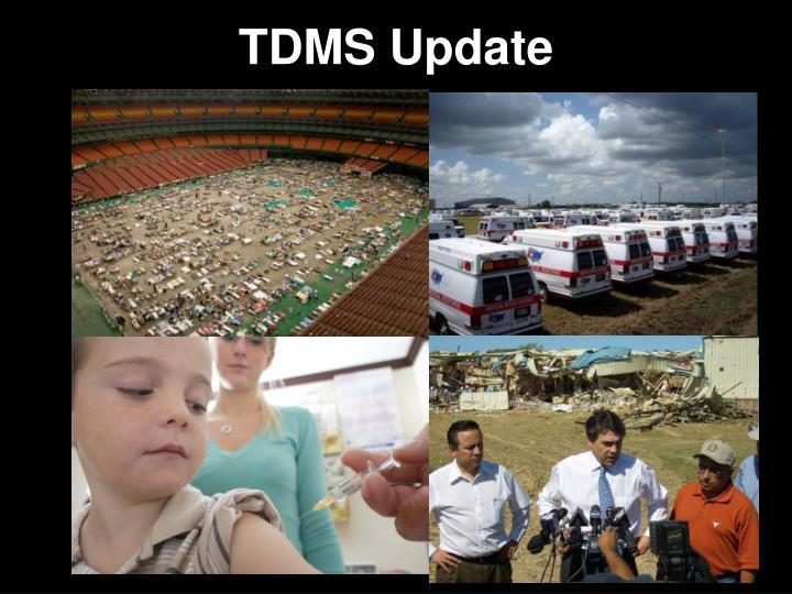 TDMS Update