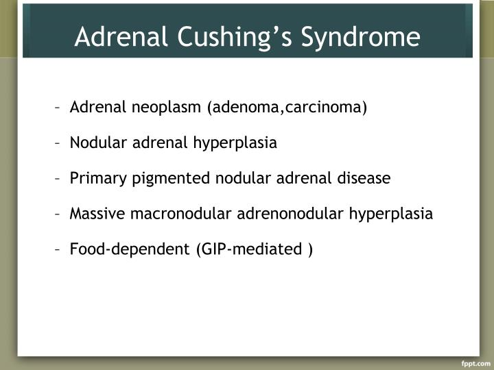 Adrenal Cushing's