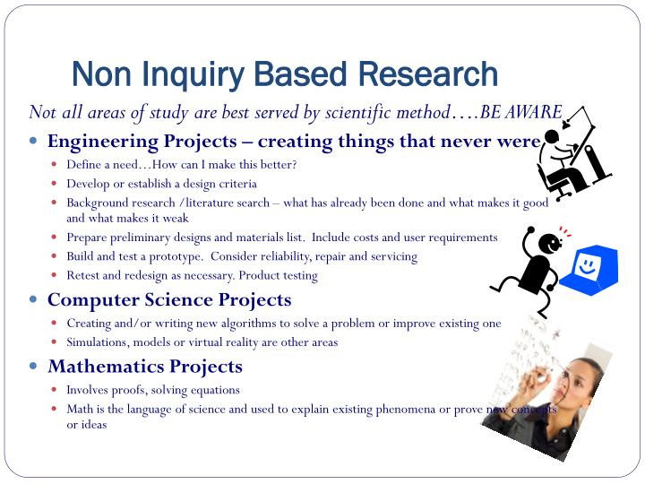 Non Inquiry Based Research