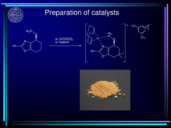 Preparation of catalysts