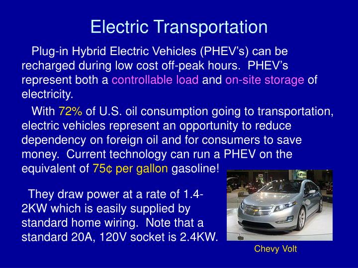 Electric Transportation