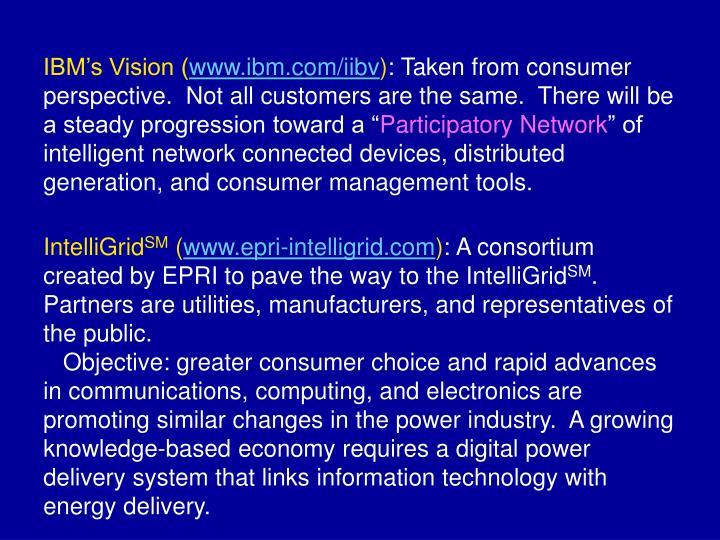 IBM's Vision (