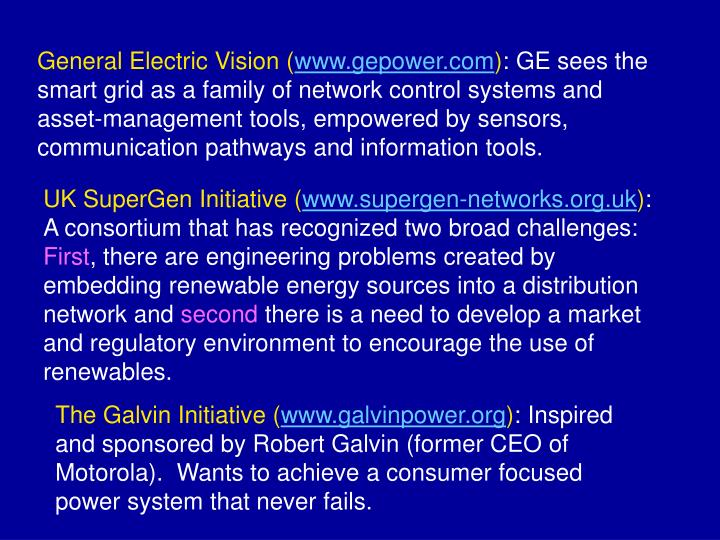 General Electric Vision (