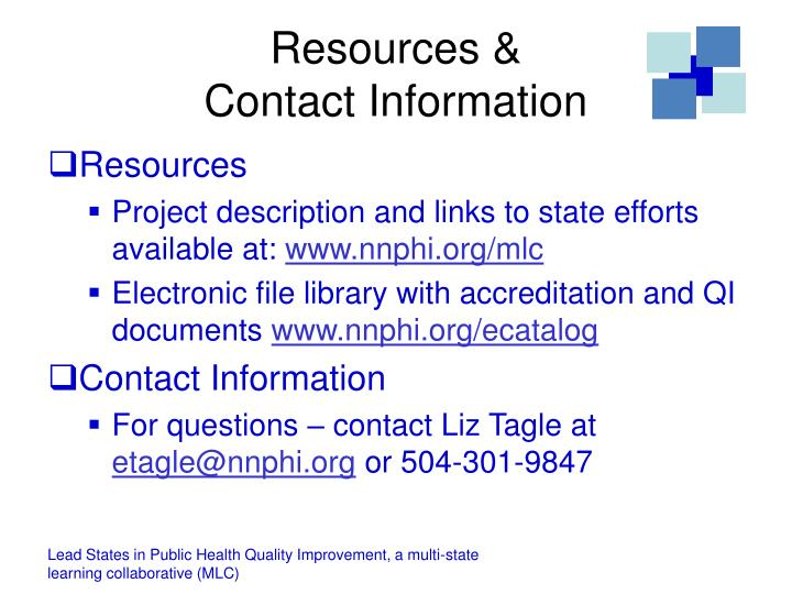 Resources &