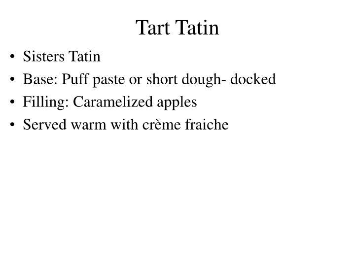 Tart Tatin