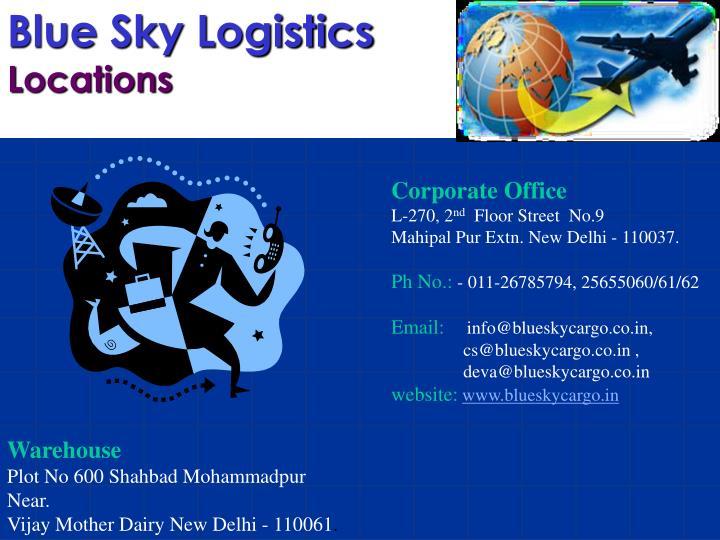 Blue Sky Logistics