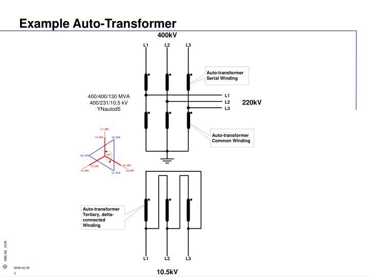 Example Auto-Transformer