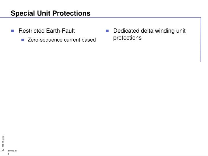 Restricted Earth-Fault