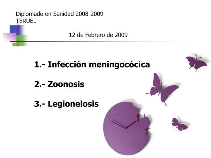 Diplomado en Sanidad 2008-2009