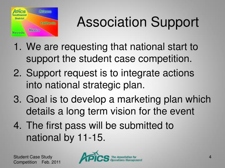 Association Support