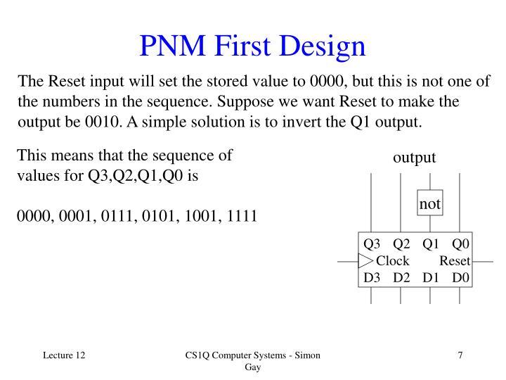 PNM First Design