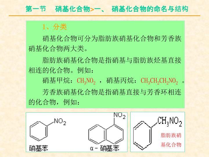 脂肪族硝基化合物