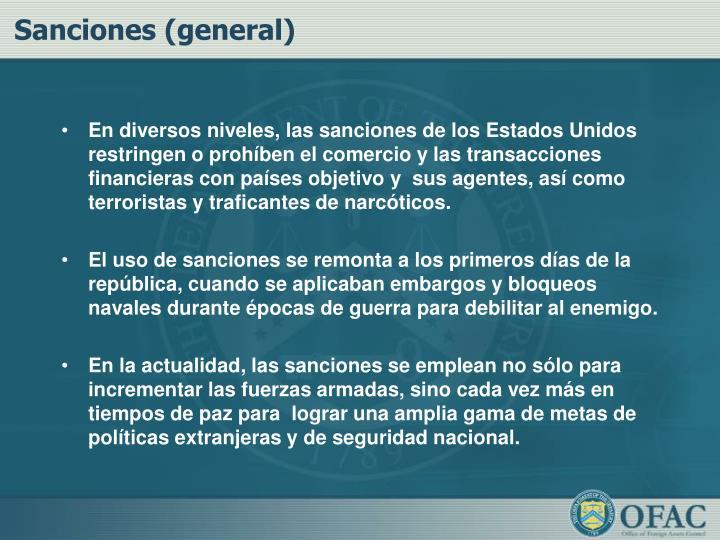 Sanciones (general)