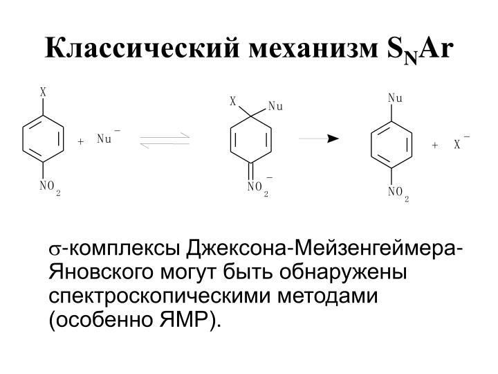 Классический механизм S