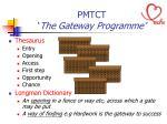 pmtct the gateway programme