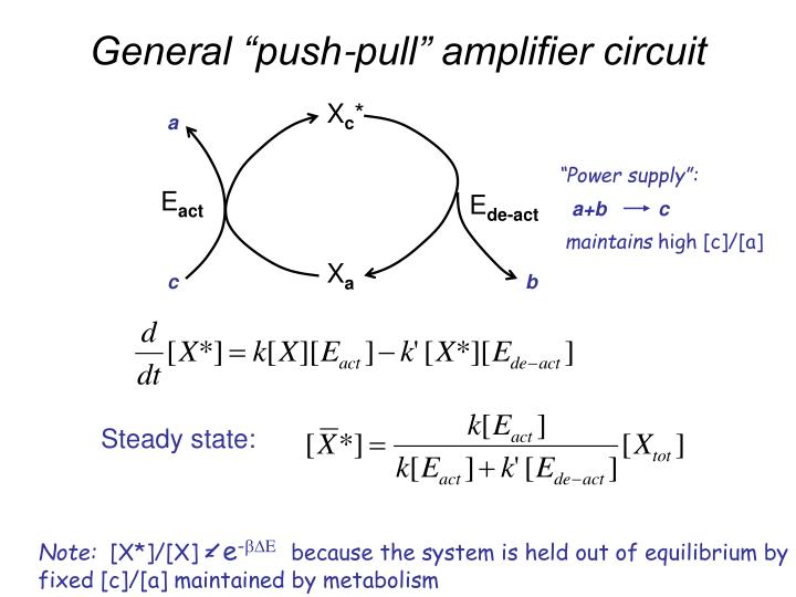 "General ""push-pull"" amplifier circuit"