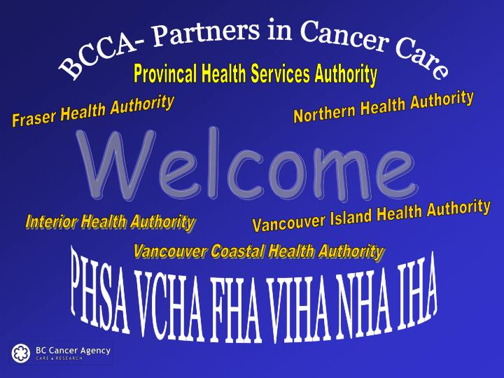 BCCA- Partners in Cancer Care