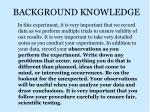 background knowledge1