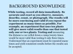 background knowledge2